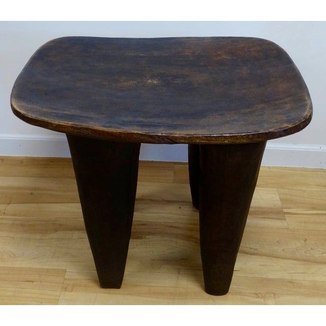 Handmade African Table - Image 2 of 4