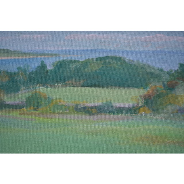 """Stephen Remick """"Summer Days"""" Stephen Remick Contemporay Plein Air Painting For Sale - Image 4 of 10"""