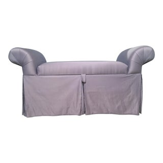Lavender Chaise Lounge Chair/Bench For Sale