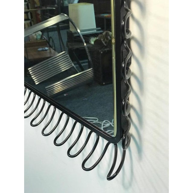 Glass Beautiful Modern Mirror For Sale - Image 7 of 8