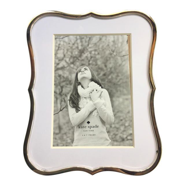 Kate Spade New York Crown Point Picture Frame | Chairish