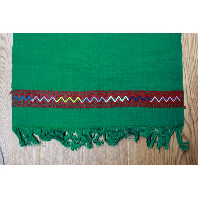 Hand-Woven Chiapas Placemats - Pair For Sale In Los Angeles - Image 6 of 7