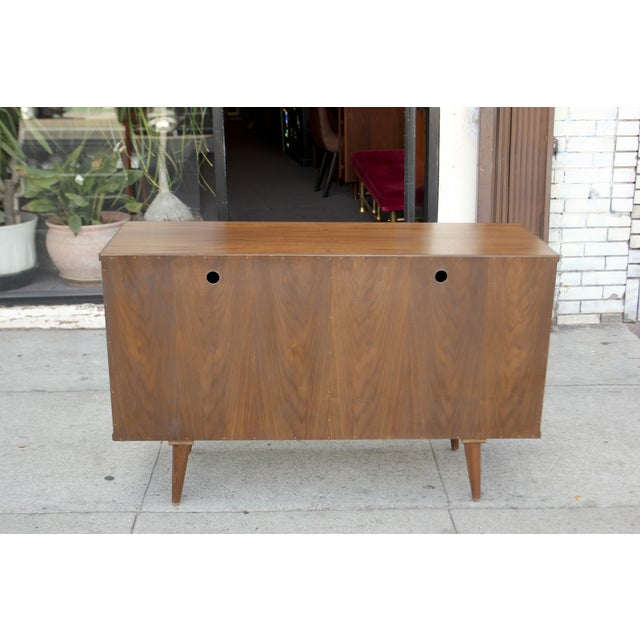 Not Yet Made - Made To Order Mid-Century Style Two Door Credenza For Sale - Image 5 of 10