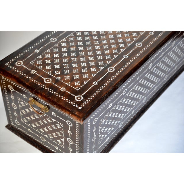 Turkish Mother of Pearl Inlaid Chest - Image 6 of 9