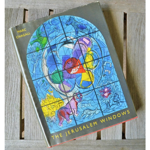 Marc Chagall the Jerusalem Windows Hardback First Edition Book For Sale - Image 12 of 12