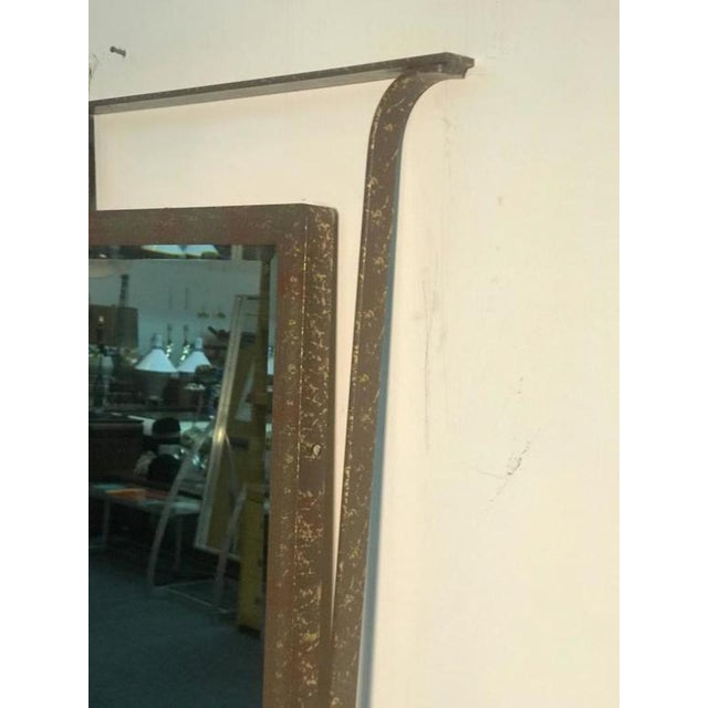 Gorgeous Carvers Guild Wall Mirror in the Manner of Jean Royere For Sale In Philadelphia - Image 6 of 9