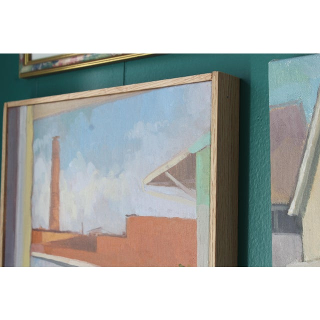 Contemporary Michelle Farro Nashville Landscape Series Oil Painting For Sale - Image 3 of 7
