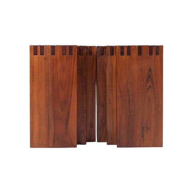 Rivadossi Hardwood Dining or Console Table For Sale - Image 6 of 13