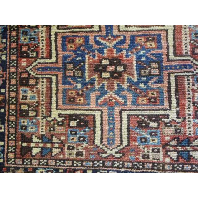 "Persian Karaje Rug - 1'10"" X 2'9"" - Image 5 of 5"