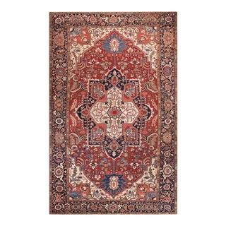 "Antique Persian Serapi Rug 11'8""x18'10"" For Sale"