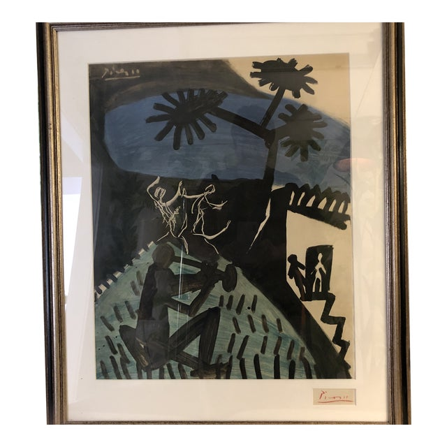 Signed Pablo Picasso Lithograph For Sale