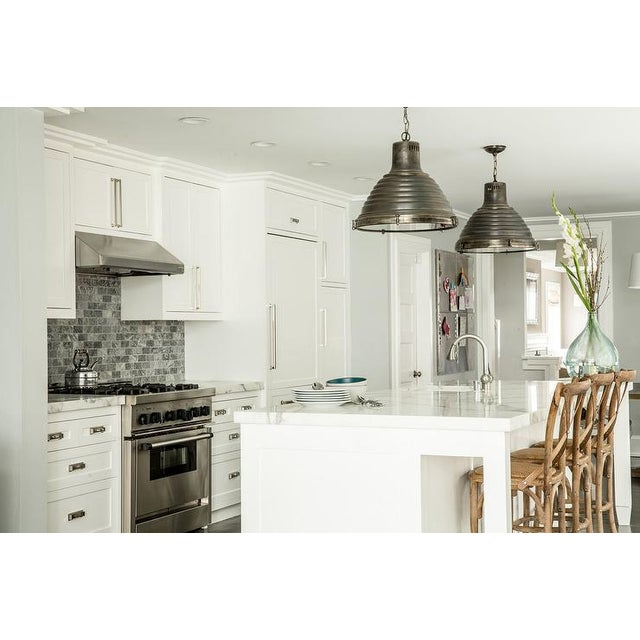 Arteriors Kenneth Pendant Lights - A Pair - Image 2 of 3