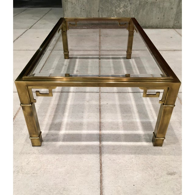 Mid-Century Greek Key Coffee Table by Mastercraft For Sale In Denver - Image 6 of 13