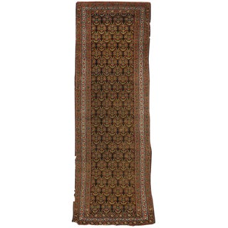 Antique Persian Malayer Runner with Traditional Modern Style
