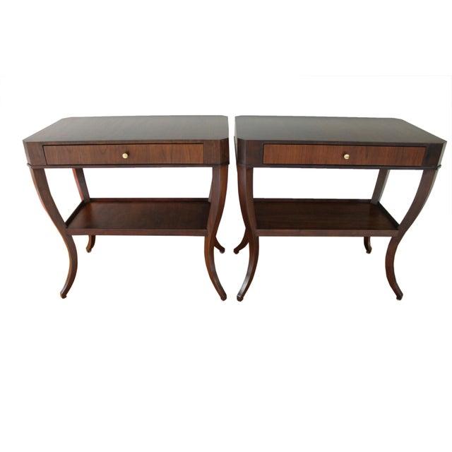 Niermann Weeks Saint Cloud Tables - a Pair For Sale - Image 12 of 12
