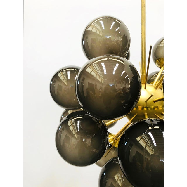 Not Yet Made - Made To Order Ventiquattro Sputnik Chandelier by Fabio Ltd For Sale - Image 5 of 11
