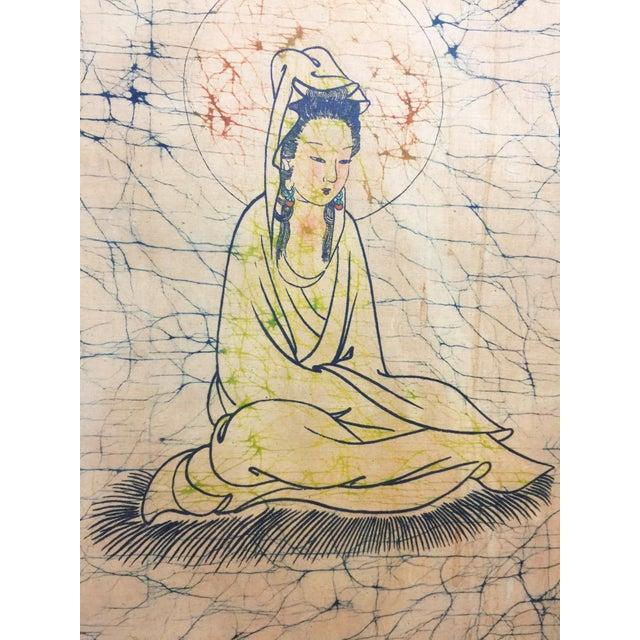 Vintage Bodhisattva Guanyin Framed Art - Image 3 of 4