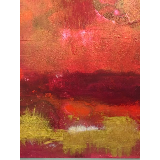 Abstract Firestorm Original Acrylic Abstract Painting For Sale - Image 3 of 5
