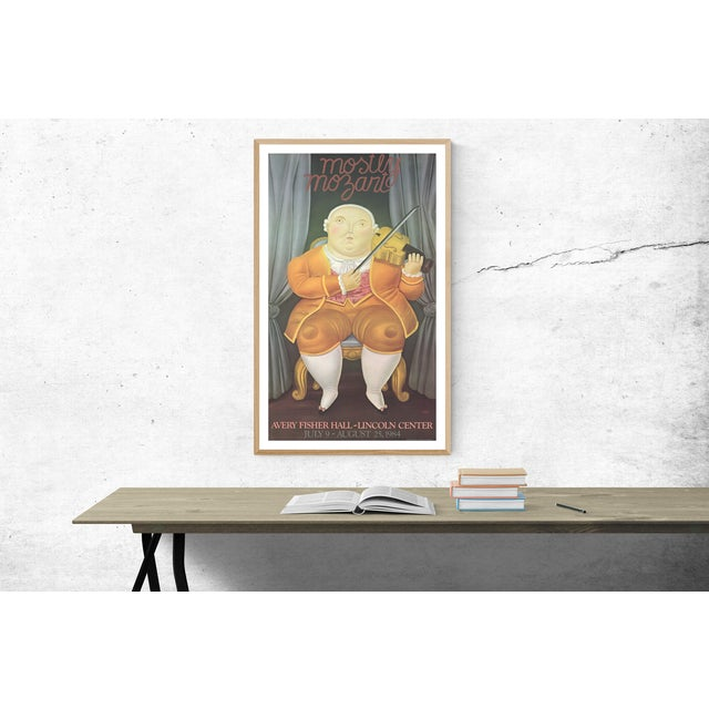 "Contemporary ""Mostly Mozart"" by Fernando Botero For Sale - Image 3 of 3"
