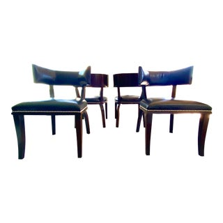 Ralph Lauren Clivedon Chairs - Set of 4 For Sale