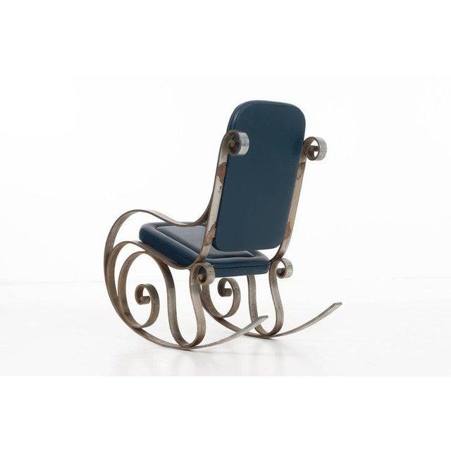 Mid-Century Modern Arturo Pani Rocking Chair For Sale - Image 3 of 6