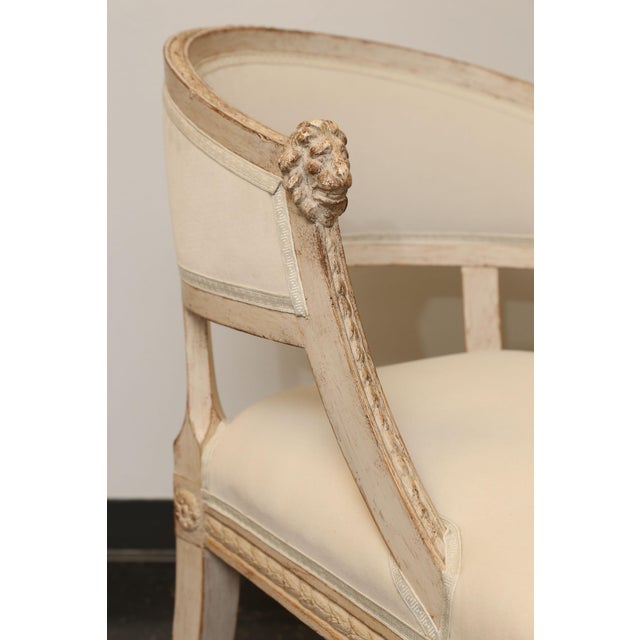 Pair of 19th Century Gustavian Barrel Back Chairs - Image 2 of 10