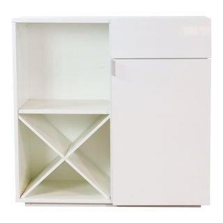 Modern Cb2 Bar Cabinet For Sale