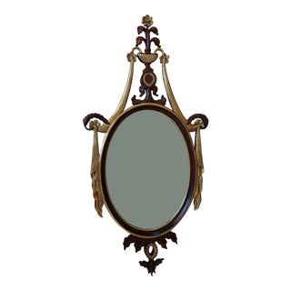 Maitland-Smith Gilt Wooden Mirror For Sale