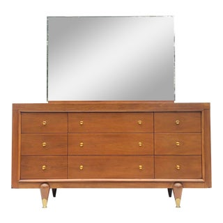 "Mid-Century ""the Berkeley"" Bedroom Dresser by Kent Coffey For Sale"