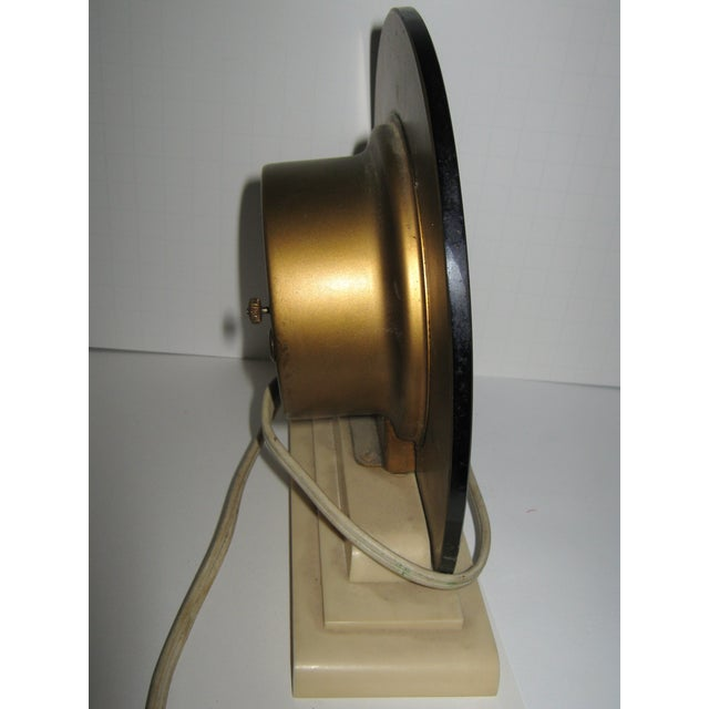 1930s Blue Mirror Telectron Electric Clock - Image 6 of 7