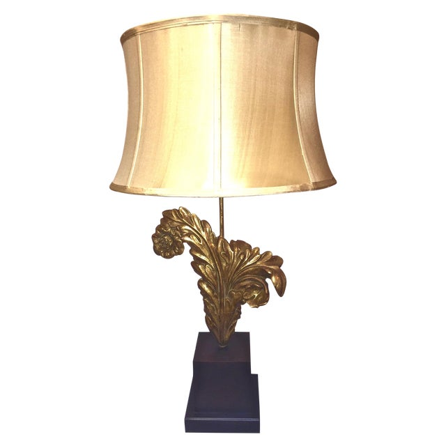 Transitional Architectural Element Table Lamp - Image 1 of 5
