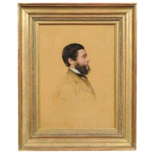 Portrait of a Man by Jacques Leman For Sale