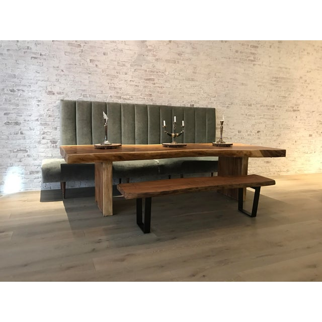 Unique/ one-off custom banquette. Absolutely ideal for loft or open space living. Custom design, made to order, top...
