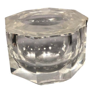 1950s Vintage Albrizzi Lucite Ice Bucket For Sale