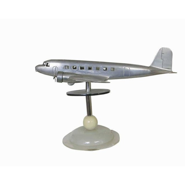 Douglas DC-2 Airplane Aluminum Model Lamp, circa 1934 - Image 6 of 10