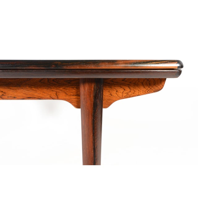 Brazilian Rosewood Draw Leaf Dining Table - Image 7 of 11