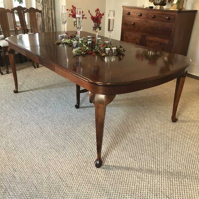 1920s Vintage Dining Table For Sale - Image 4 of 9