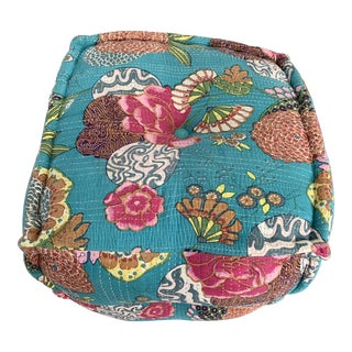 Four Hands Tufted Pouf For Sale