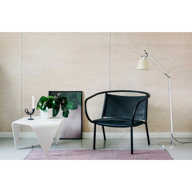 Artek Authentic Trienna Table in White Lacquer by Ilmari Tapiovaara & Artek For Sale - Image 4 of 6