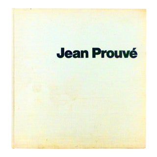 1971 Jean Prouve, Industrial Architecture Book For Sale