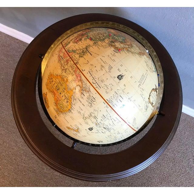 1960s Vintage World Globe For Sale - Image 5 of 7