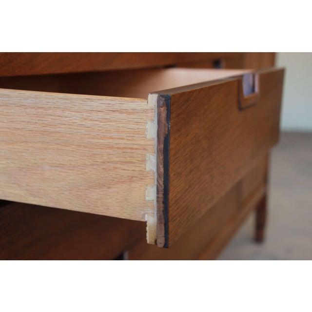 Brown John Stuart Janus Collection 14-Drawer Long Dresser or Credenza For Sale - Image 8 of 10
