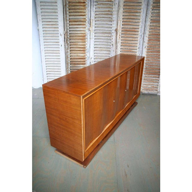 French 1940s Mahogany Sideboard - Image 8 of 11