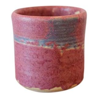 Vintage Handmade Studio Pottery Ceramic Vessel