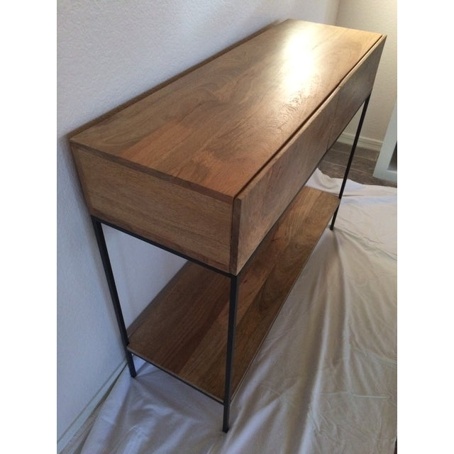 West Elm Rustic Storage Console - Image 4 of 5