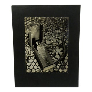 "Circa 1950 Vintage ""Perfume"" Black & White Photograph For Sale"