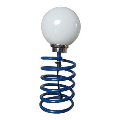 Ingo Maurer Royal Blue Spring Lamp - Image 1 of 3