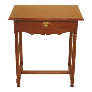 Kittinger Colonial Williamsburg 1-Drawer Mahogany Table