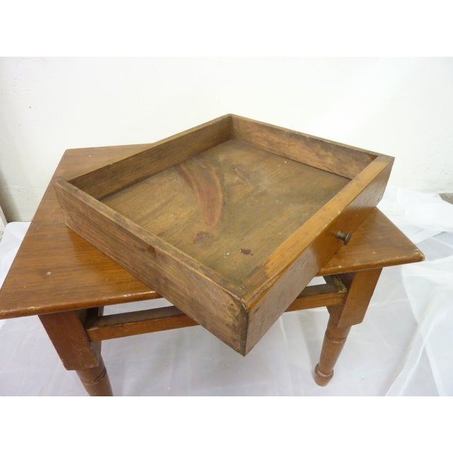 19th Century Vintage Low Table For Sale - Image 4 of 6