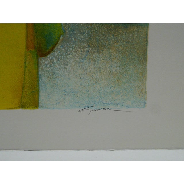 Limited Edition Signed Print Spring Claude Gaveau For Sale - Image 5 of 5